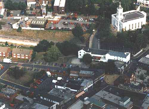 Aerial View of Bilston