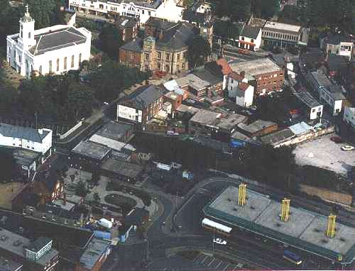 Aerial Photo of Bilston